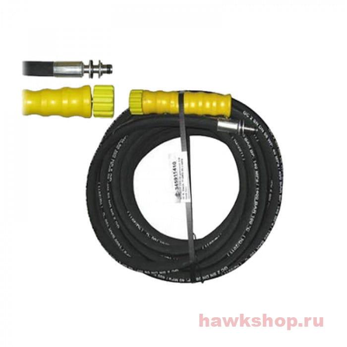 Шланг в/давления Hawk 2SN DN08 400 бар, 10 м + Гайка - штуцер