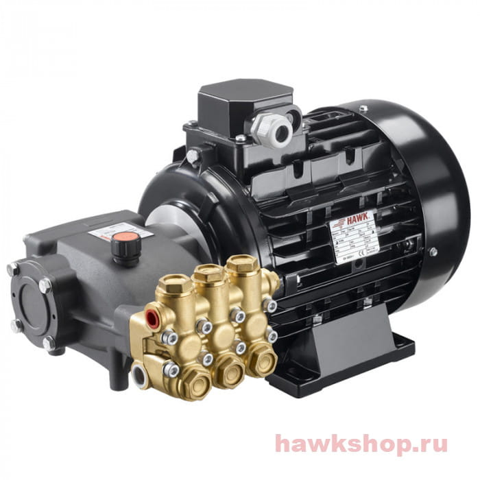 Плунжерный насос высокого давления (помпа) без регулятора Hawk HD 1417 R