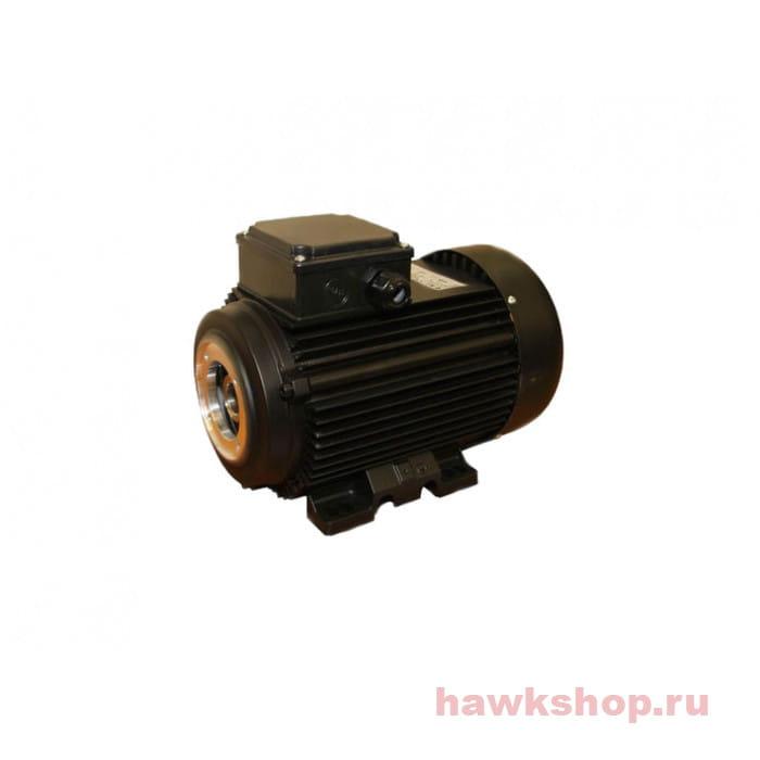 Электродвигатель Hawk Electrics Motors Europe 3,0 кВт, 1 фаза (полый вал) 1430 об/мин